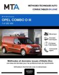 MTA Opel Combo C fourgon 5p