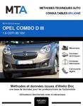 MTA Opel Combo C plateau