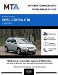 MTA Opel Corsa C 3 portes phase 2
