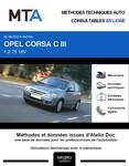 MTA Opel Corsa C 5 portes phase 2