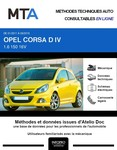 MTA Opel Corsa D 3 portes phase 2