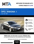 MTA Opel Insignia I berline phase 1