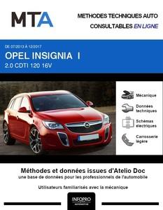 MTA Opel Insignia I break phase 2