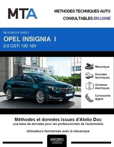 MTA Opel Insignia I phase 2