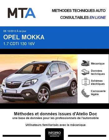 MTA Opel Mokka phase 1