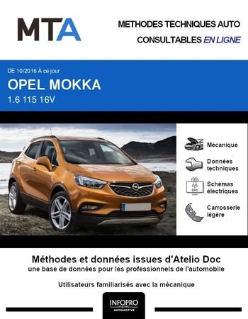 MTA Opel Mokka phase 2 (Mokka X)
