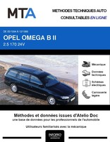 MTA Opel Omega B break phase 1