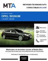 MTA Opel Signum phase 2