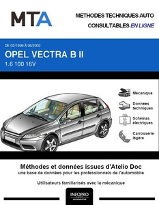 MTA Opel Vectra B 5p phase 2