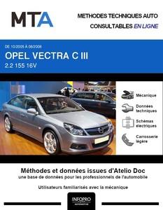 MTA Opel Vectra III 5p phase 2