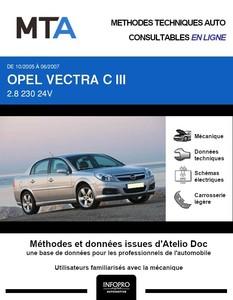 MTA Opel Vectra III berline phase 2