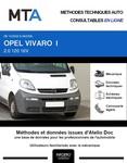 MTA Opel Vivaro A combi 4p phase 1