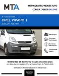 MTA Opel Vivaro A fourgon 4p phase 1