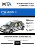 MTA Opel Vivaro B fourgon 4p