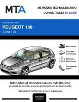MTA Peugeot 108 3p