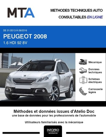 MTA Peugeot 2008 I phase 1