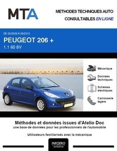 MTA Peugeot 206+ 5 portes