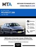 MTA Peugeot 206 berline