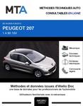 MTA Peugeot 207 5 portes