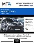 MTA Peugeot 207 plus 3 portes