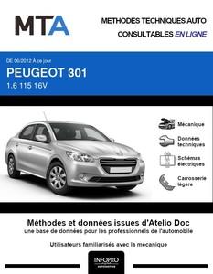 MTA Peugeot 301 berline phase 1