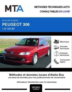 MTA Peugeot 306 3 portes phase 2