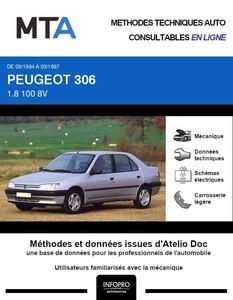 MTA Peugeot 306 berline phase 1