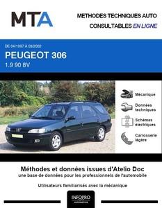 MTA Peugeot 306 break phase 2