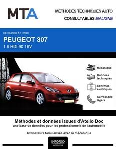 MTA Peugeot 307 3 portes phase 2