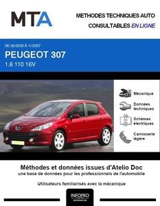 MTA Peugeot 307 5 portes phase 2