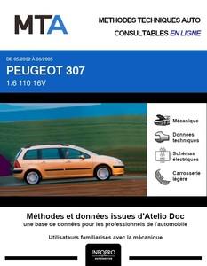 MTA Peugeot 307 break phase 1