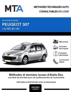 MTA Peugeot 307 break phase 2