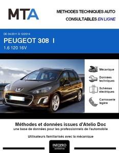 MTA Peugeot 308 I SW phase 2