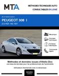 MTA Peugeot 308 I cabriolet phase 1