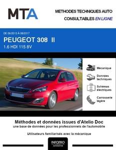 MTA Peugeot 308 II 5 portes phase 1
