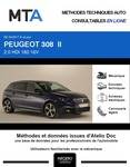 MTA Peugeot 308 II 5 portes phase 2