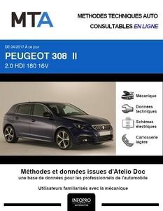 MTA Peugeot 308 II 5 portes phase 2