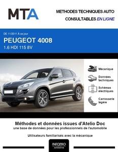 MTA Peugeot 4008