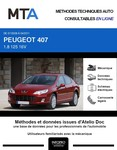 MTA Peugeot 407  berline phase 2