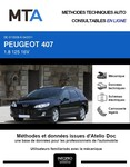 MTA Peugeot 407  break phase 2