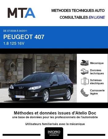 MTA Peugeot 407  break phase 2
