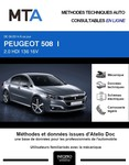 MTA Peugeot 508 I  berline phase 2