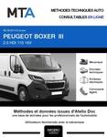 MTA Peugeot Boxer III  fourgon 5p phase 2