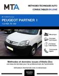MTA Peugeot Partner I Plancher Cabine phase 2