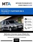 MTA Peugeot Partner II Fourgon 4 portes phase 2