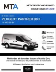 MTA Peugeot Partner II  fourgon 3p phase 1