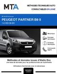 MTA Peugeot Partner II  fourgon 3p phase 3