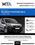 MTA Peugeot Partner II  fourgon 4p phase 3