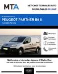 MTA Peugeot Partner II  fourgon 5p phase 1