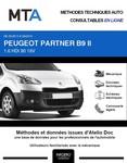 MTA Peugeot Partner II  plancher cabine phase 2